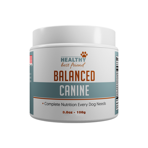 Balanced Canine - Order Page - 1 Bottle
