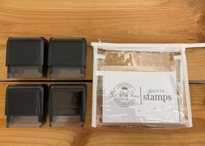 4 Quick Fix Stamps