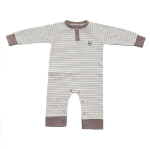 Organic Cotton Long Sleeve Owl Romper