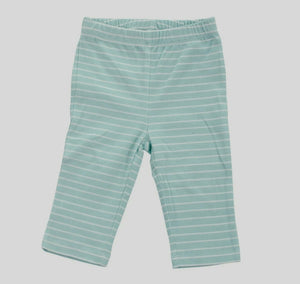 Organic Cotton Pullover Blue Stripe Pant