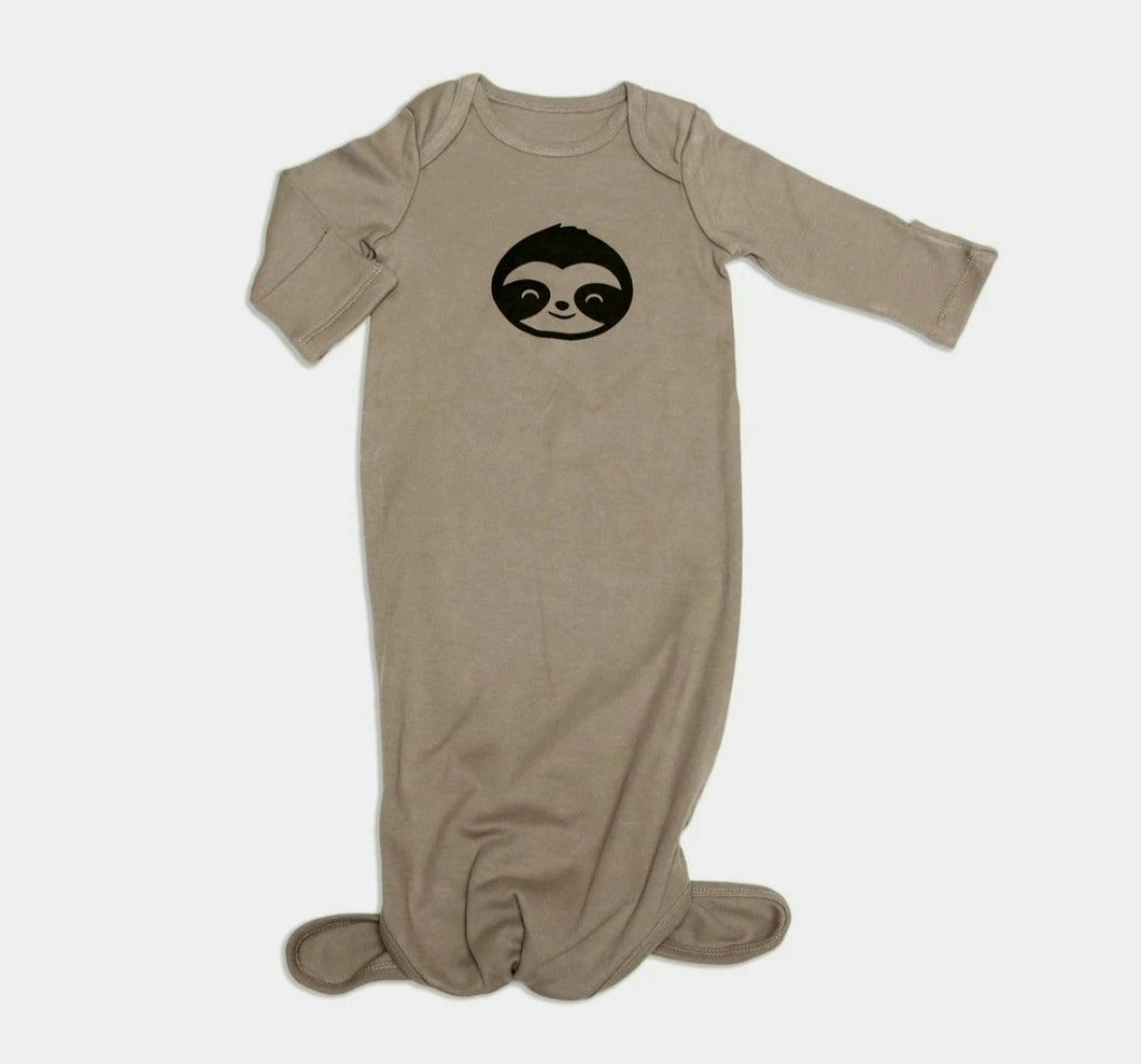 Organic Cotton Knotted Sloth Sleeper