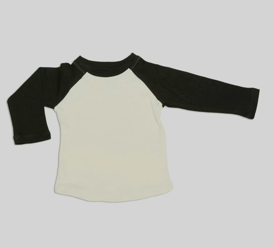 Organic Cotton Baseball Tee