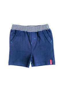 Navy and Stripe Shorts