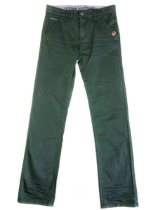 Green Straight Leg Pants