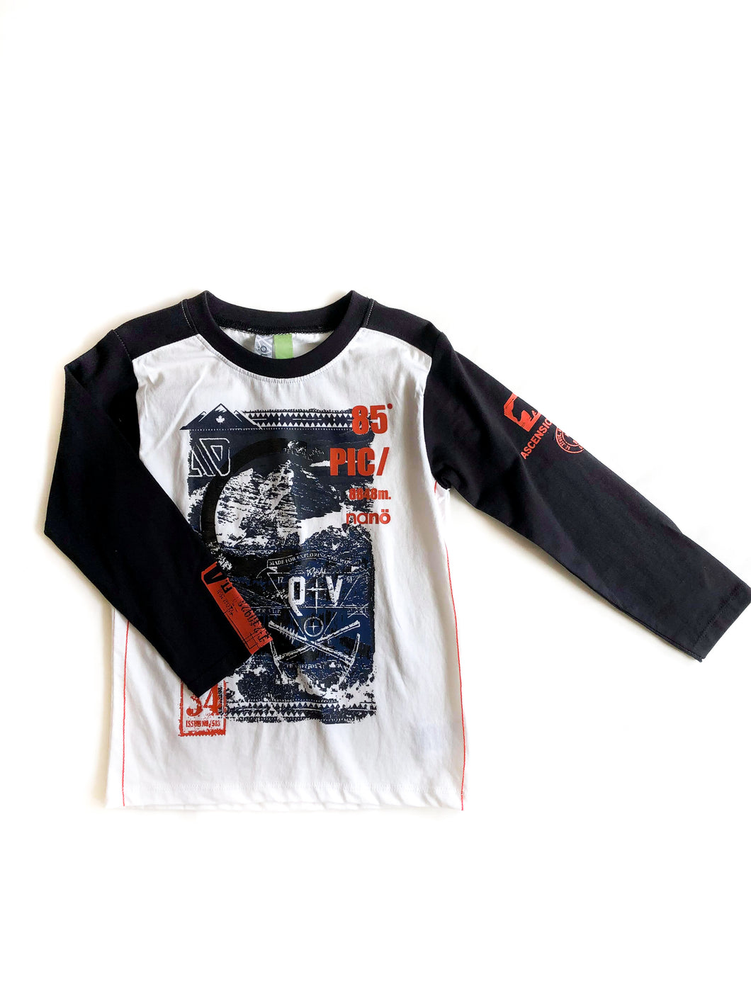 Long Sleeve Raglan Graphic Shirt
