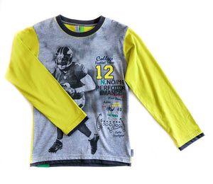 Long Sleeve Football Shirt