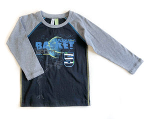 Long Sleeve Basketball Shirt
