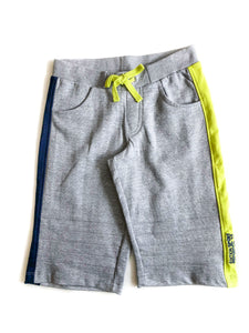Boys Grey Stripe Shorts