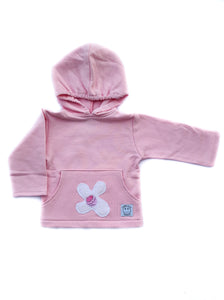 Hooded Sweatshirt-Light Pink