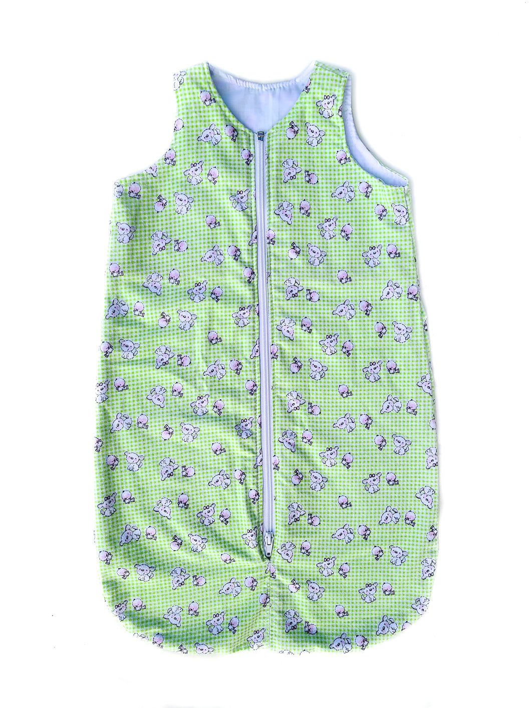 Green Checked Sleep Sack