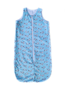 Blue Checked Sleep Sack
