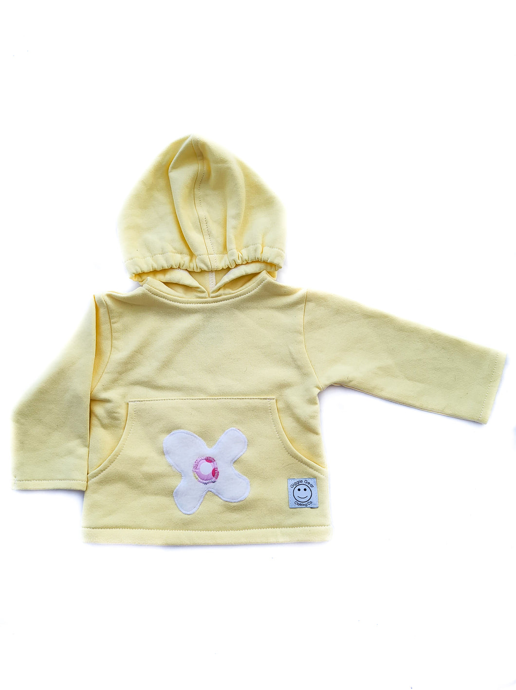 Hooded Sweatshirt-Yellow