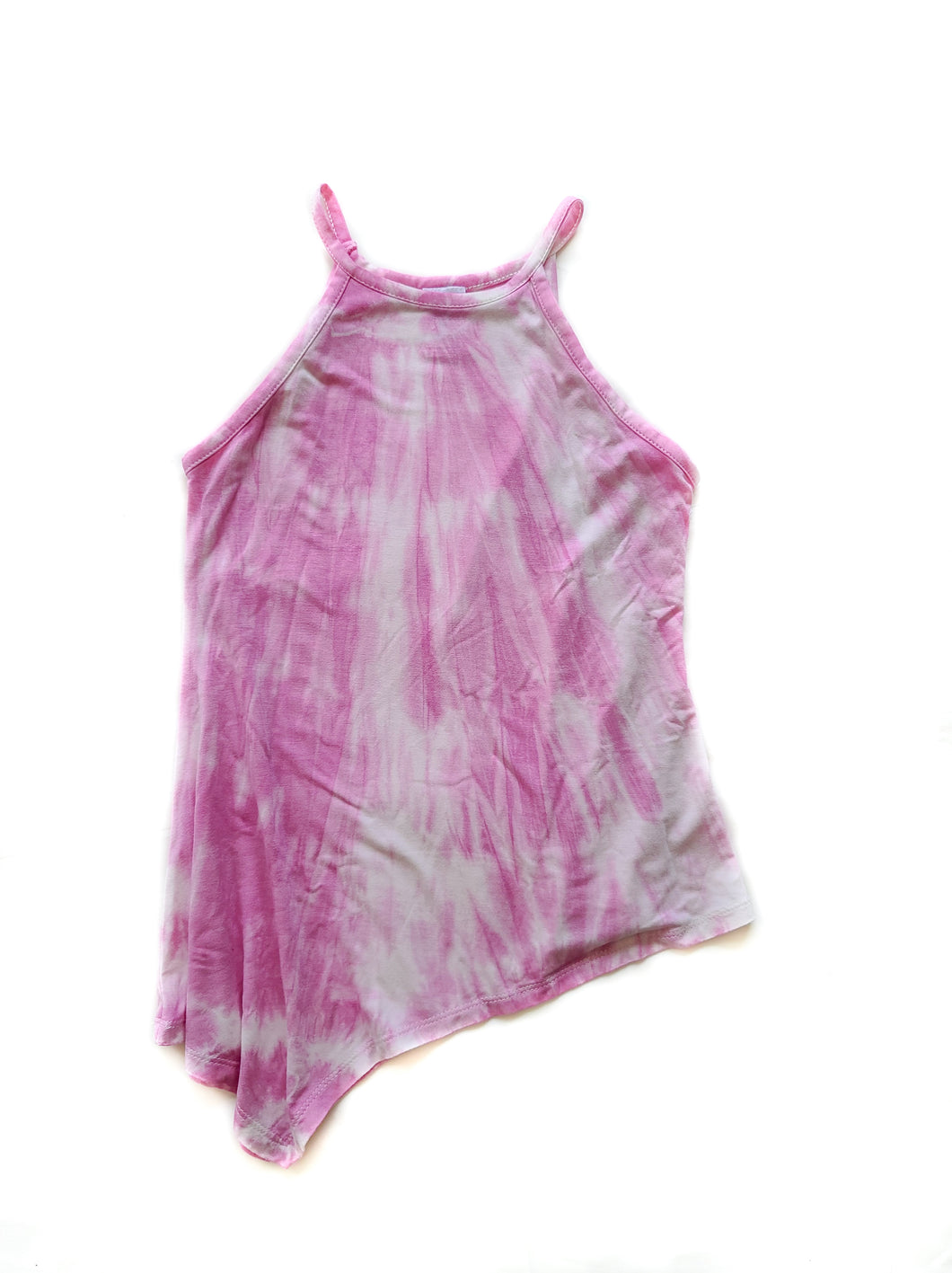 Asymmetrical Tie Dye Top