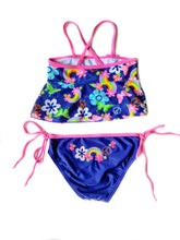 Load image into Gallery viewer, Flower 2-Piece Swimsuit