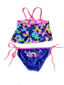 Flower 2-Piece Swimsuit