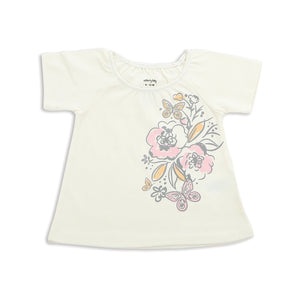 Organic Cotton Swing Top-Feather