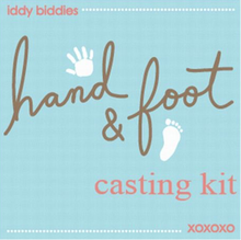 Load image into Gallery viewer, Iddy Biddies Hand and Foot Casting Kit