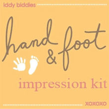 Load image into Gallery viewer, Iddy Biddies Hand and Foot Impression Kit