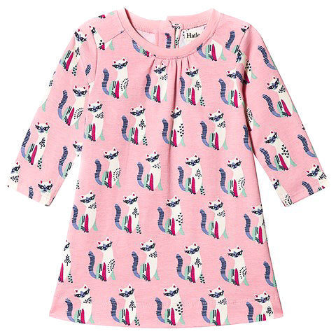 Pink Kitty Swing Dress