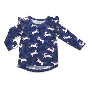 Bamboo Long Sleeve Unicorn Shirt