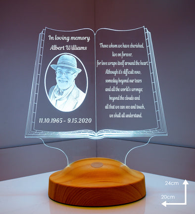 Memorial Personalized 3D Light