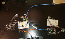 Wireless Control (NRF24L01) of Servo Motors Using Joystick module