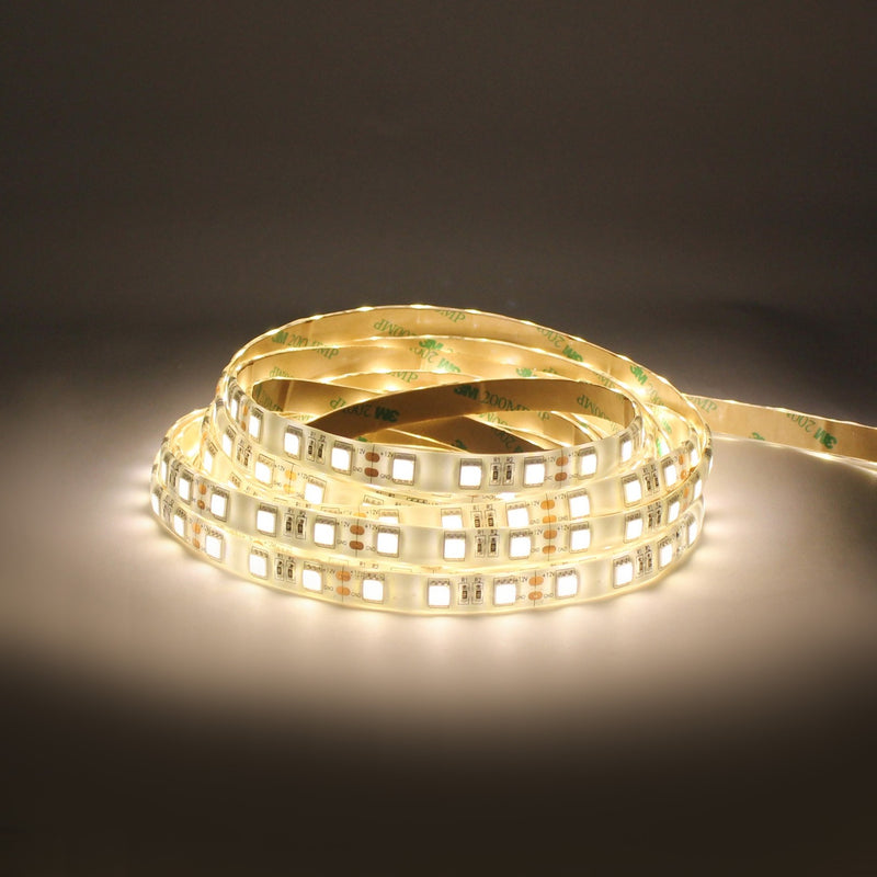 LED strip 12V Warm White 3K SMD550  Silicon Coated per Meter