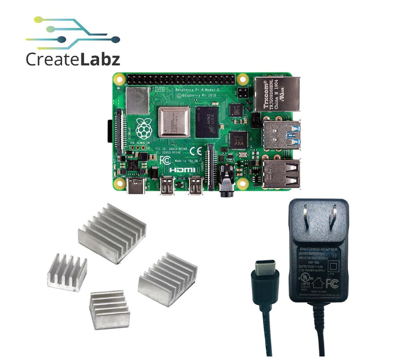 Raspberry Pi 4B - 4GB Basic Kit