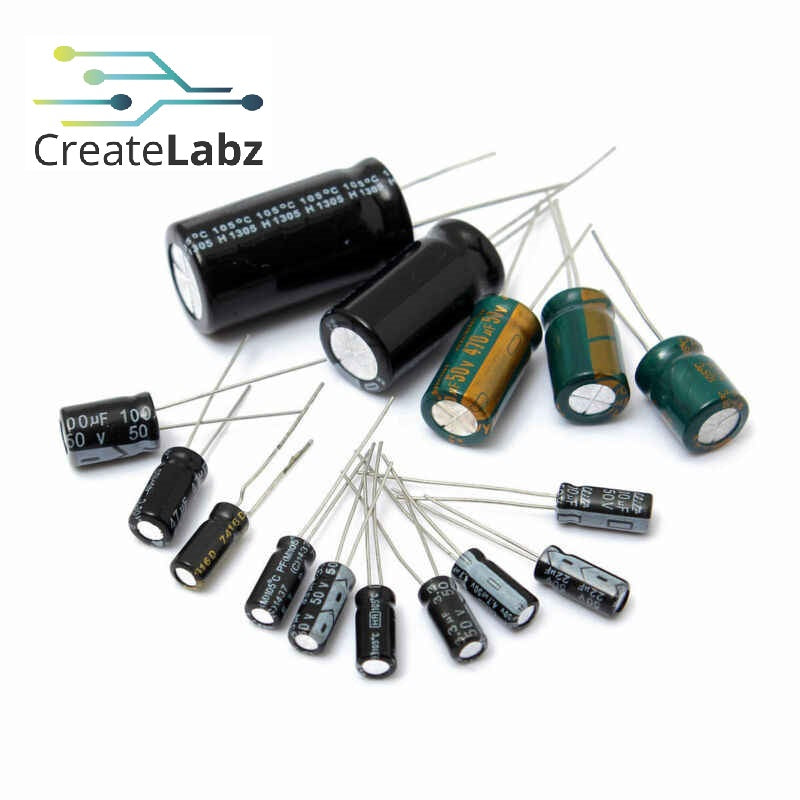 Assorted Electrolytic Capacitor