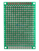 Prototype PCB  Double Sided 280 Tinned Holes Universal Breadboard 40x60mm