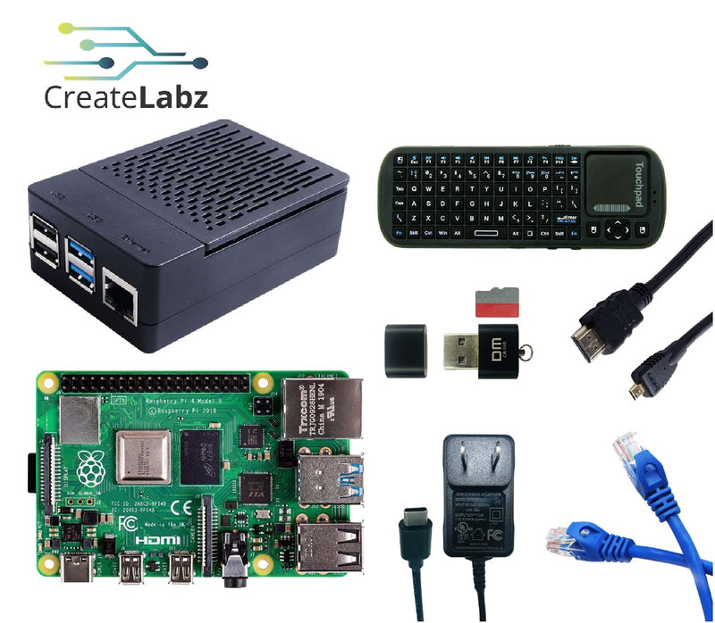 Raspberry Pi 4B - 4GB Desktop Kit