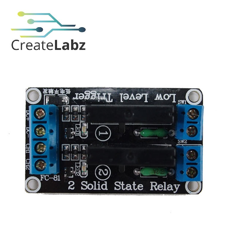 2-channel Solid State Relay module 5V low level