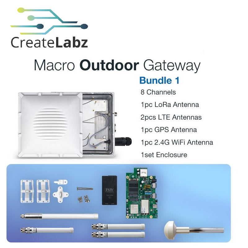 RAKWireless RAK7249 Macro Outdoor Gateway Bundle 1 ( 433MHz / 868MHz )