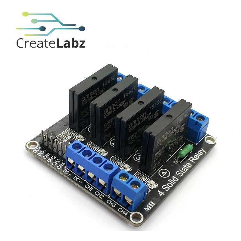 4-Channel Solid State Relay 5V Low Level
