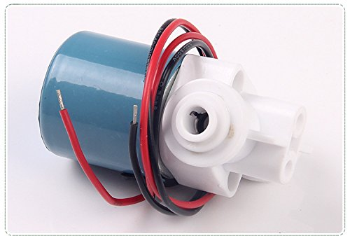 Solenoid Valve Plastic, 1/4 12V DC Quick Plug Connect for drinking water