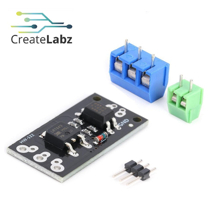 LR7843 MOSFET Switch Control Module, Optocoupler Isolation