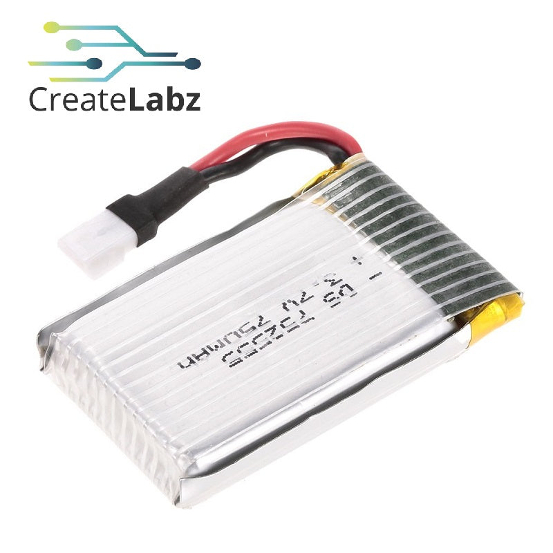 3.7V 750mAh Lithium Polymer Battery for RC Drone