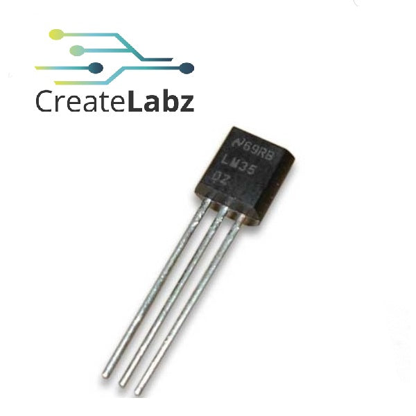 LM35DZ Precision Temperature Sensor  TO-92 (Analog)