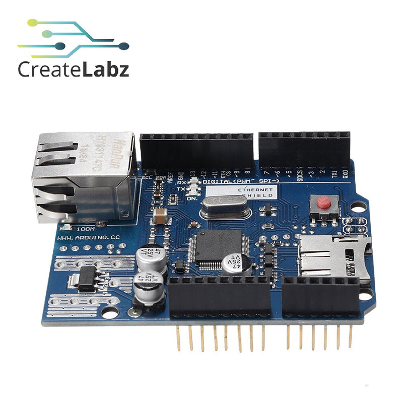 Ethernet Shield - W5100 for Arduino Uno, Mega