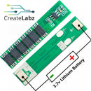 Li-ion Battery Protection Module 1S 18650, 3.7V 12A