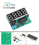 Digital LED Electronic Clock Alarm DIY Soldering Kit