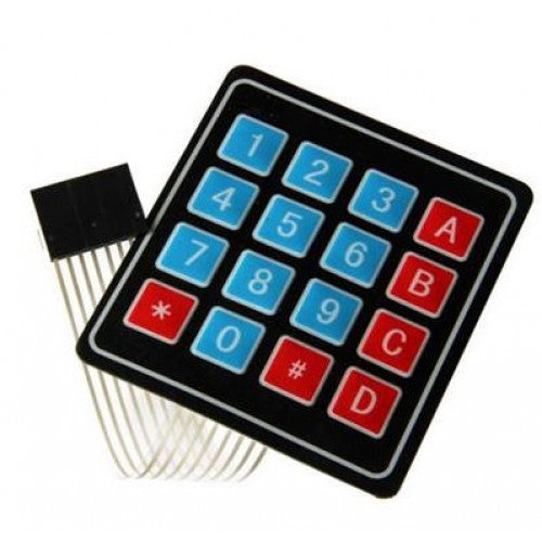 4x4 Keypad Button Membrane Switch