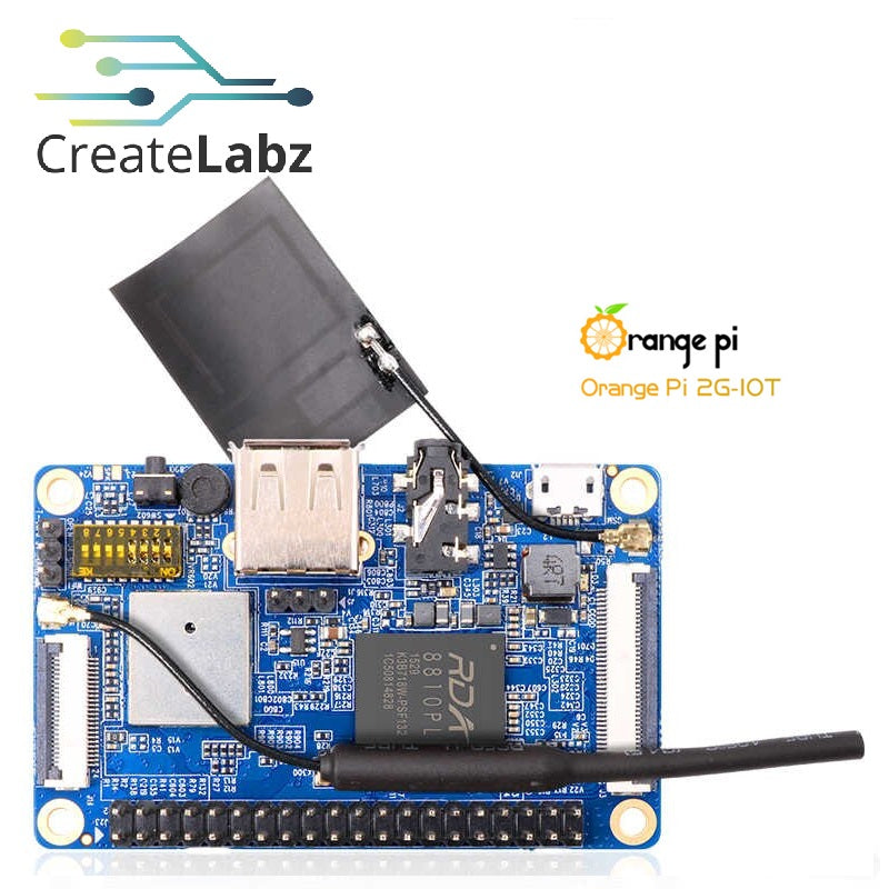 Orange Pi 2G-IoT ARM Cortex-A5 32-bit Bluetooth, Linux/Android support