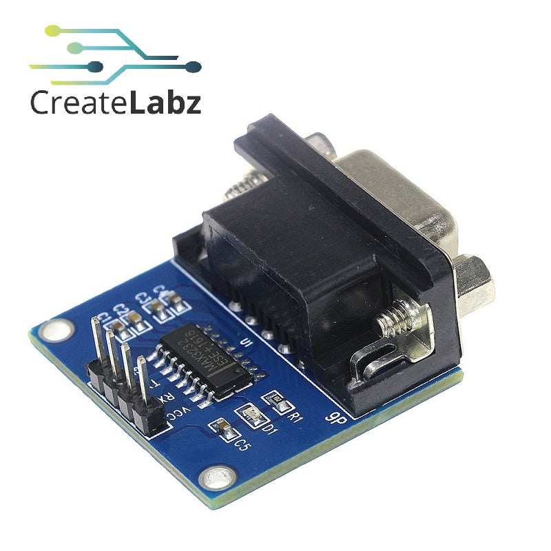 RS232 to TTL Serial Converter Module, MAX3232 D89 Connector
