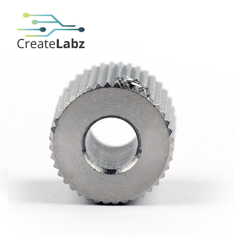 Extrusion Wheel for 3D printer makerbot 40-teeth 12mm-OD, 5mm/8mm ID