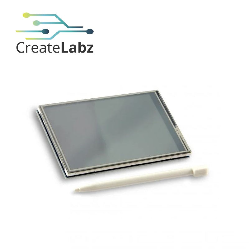 "3.5"" TFT LCD module Touch Display for Raspberry Pi 3 and  Pi 2 Model B/B+ (supports Raspbian)"