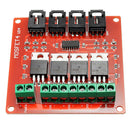 4-Channel MOSFET Switch module IRFS40 for Arduino