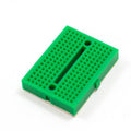 Mini Breadboard Solderless 170 tie-points 35x47x8.5 mm (Options: white, blue, green, yellow, transparent)