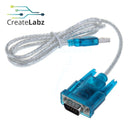 USB to DB9 Cable Adapter RS232 Com Port Serial