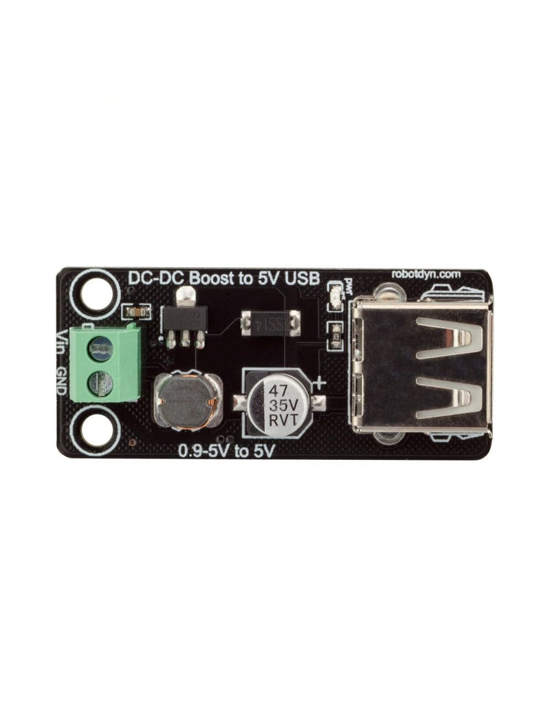 DC-DC converter Step Up 0.9-5V to 5V USB